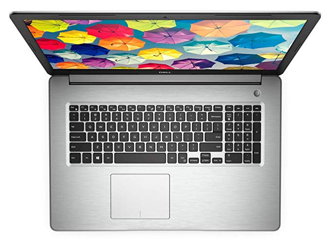 Dell Inspiron 17 5000 Top View