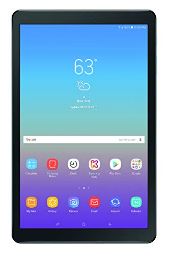 Samsung Galaxy Tab A 10.5-inch Tablet Home Screen