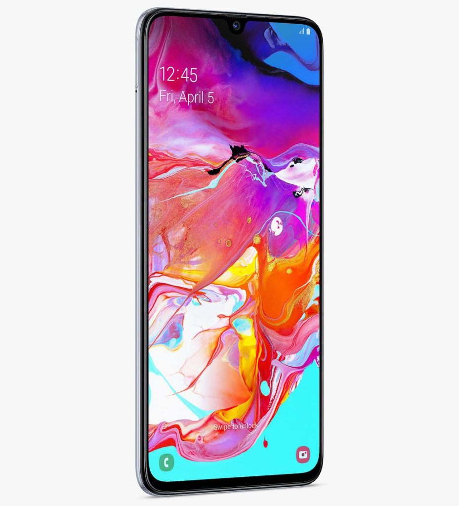 Samsung Galaxy A70 aspect
