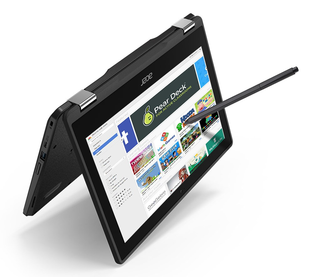 Acer Spin 11 Chromebook Tent Mode