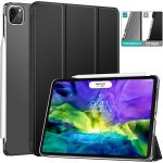 MoKo iPad Pro 2020 Case with Translucent Hard Shell & Tri-fold Cover