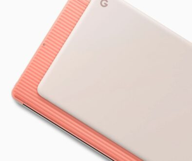 Google Pixelbook Go Pink Front and Back