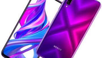 Honor 9X Pro Phantom Purple