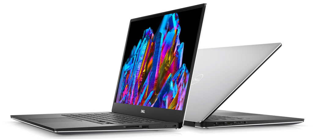 Dell XPS 15 Front and Back