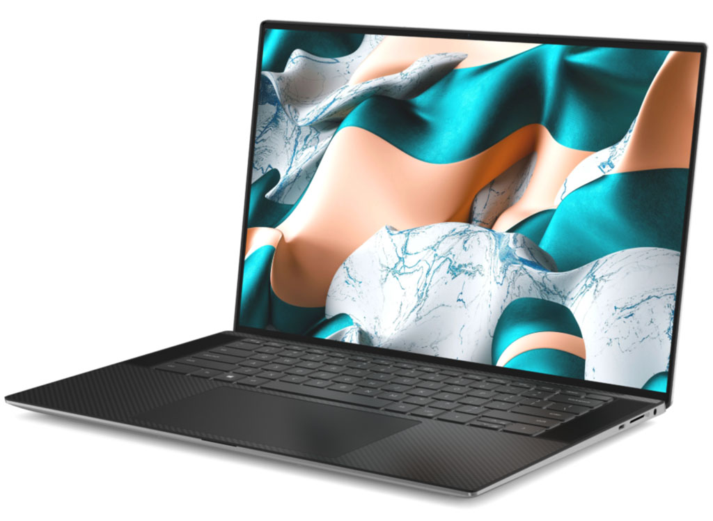 New XPS 15 aspect view
