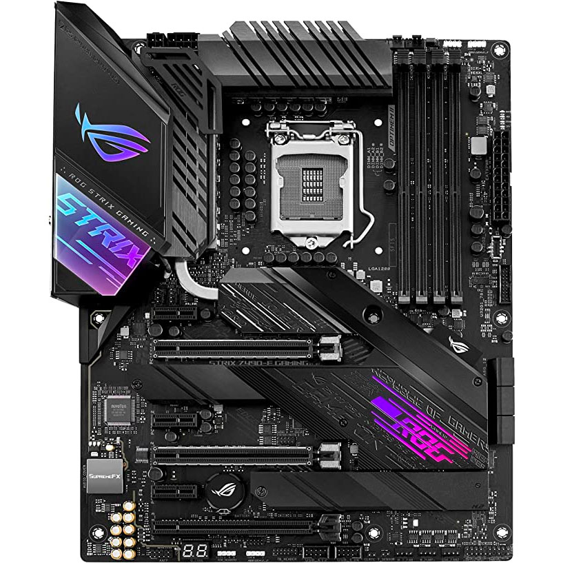 ASUS ROG Strix Z490-E Gaming Z490 WiFi 6 LGA 1200 Featured