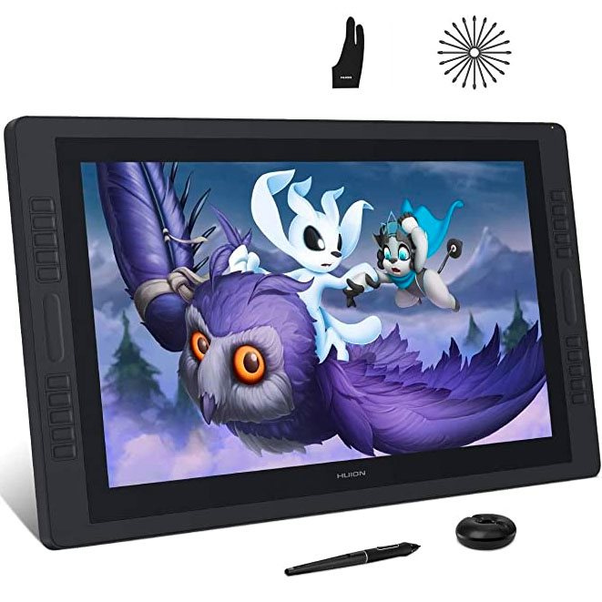 Large 20-inch to 24-inch Graphics Drawing Tablets for Your Personal Design Studio