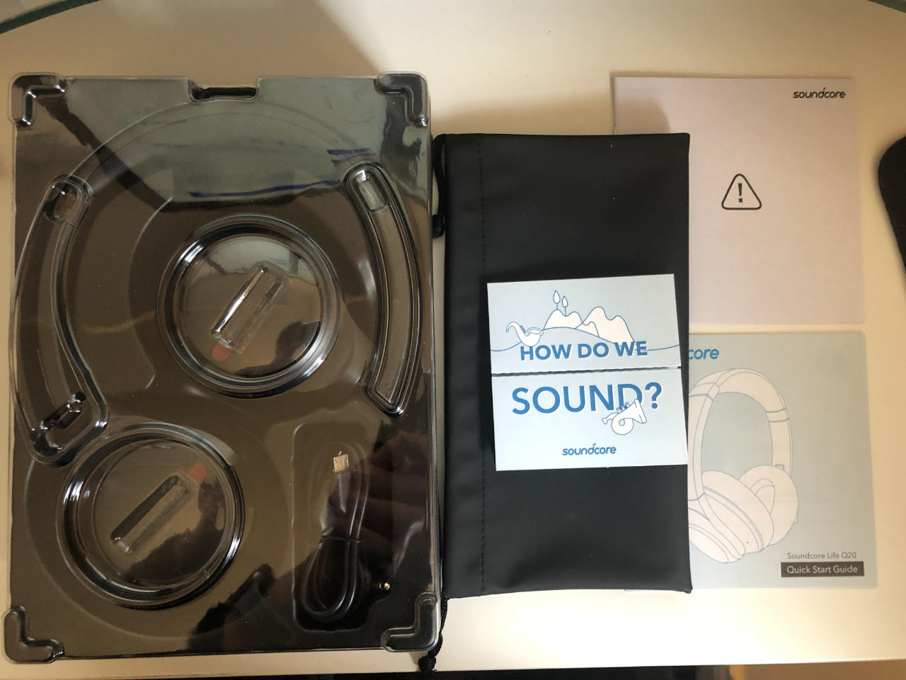 Soundcore Life Q20 Packaging