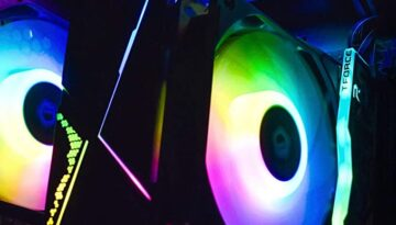 CPU Cooler, RGB RAM and Case Fan RGB Co-ordinated