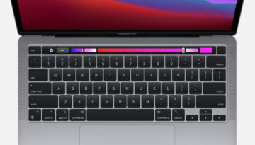 MacBook Pro M1 2020 Top Down