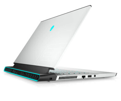 Alienware M13 R3 rear aspect