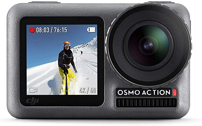 DJI Osmo Action - 4K Action Cam 12MP Front