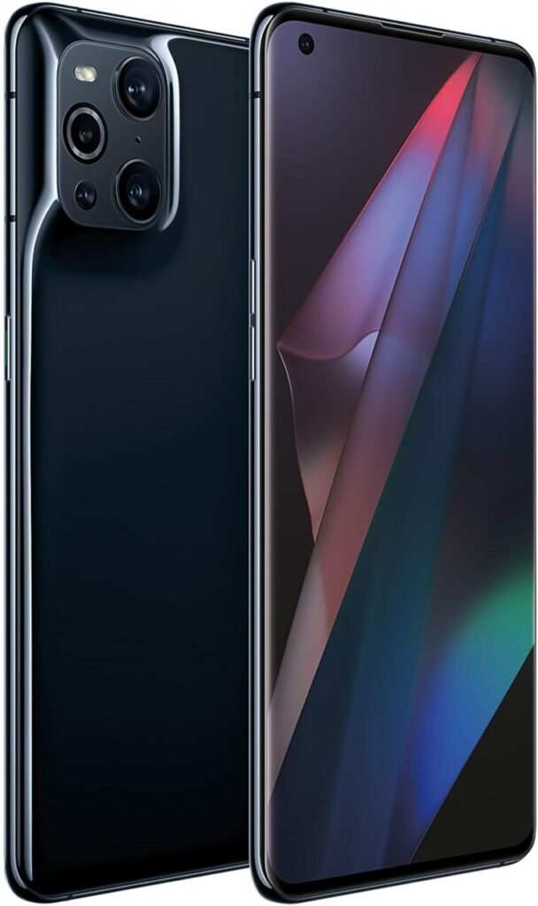 Oppo Find X3 Pro Aspect View