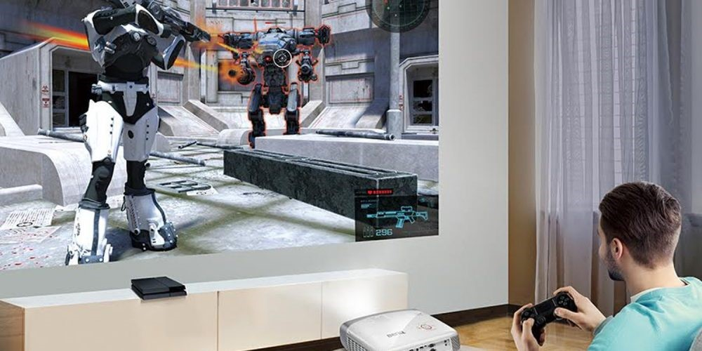 Gaming on a Projector