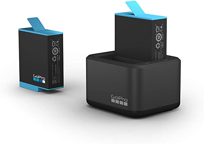 GoPro Dual Battery Charger and Spare Battery