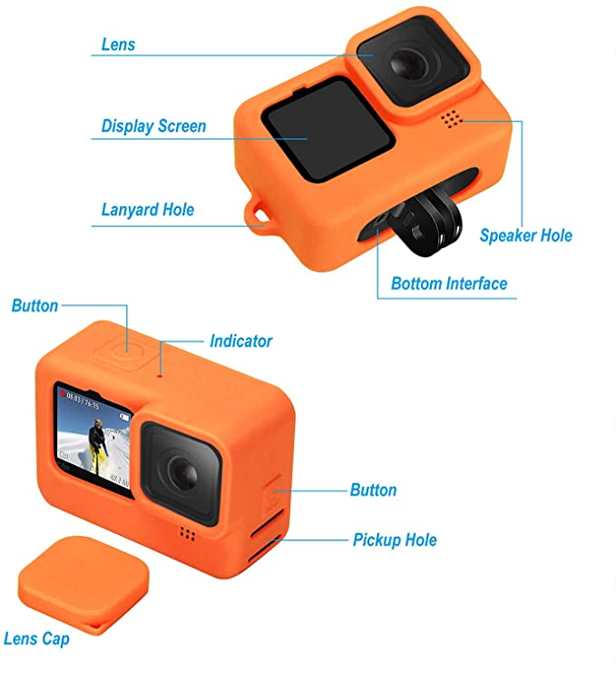 Silicone Sleeve for GoPro