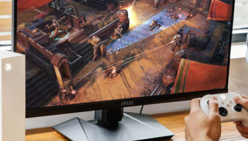 Monitor for Gaming Console SQ