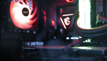 graphics card in gaming pc SQ